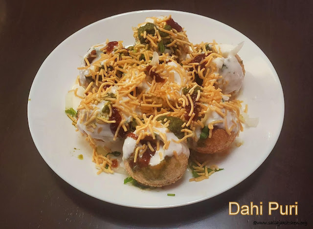 images of Dahi Puri / Dahi Puri Chaat  / Dahi Poori - Chaat Recipes