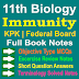 11 Class Biology Notes | Immunity