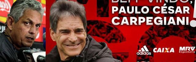 ESTÁ FORA! RUEDA DEIXA O COMANDO DO FLAMENGO E PAULO CÉSAR CARPEGIANI É O NOVO TÉCNICO