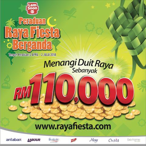 Win RM110,000 Duit Raya with Lam Soon's Raya Fiesta Berganda Contest