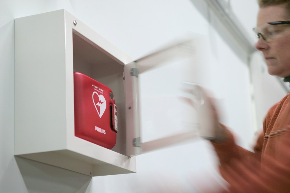 do you know where the nearest AED is located? Do you have one near you?    Find out.