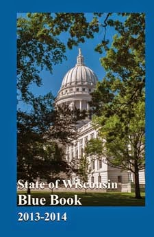 Wisconsin Blue Book Cover
