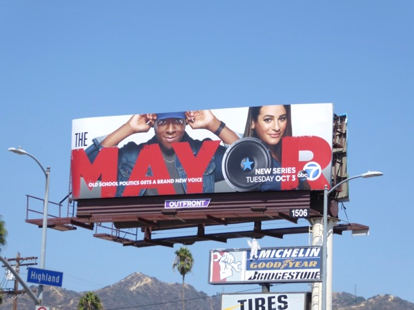 Mayor TV series billboard