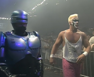 WCW Capital Combat 1990 - Robocop came to Sting's rescue