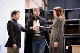 Handel: Rinaldo - Jake Arditti, James Hall, Anna Devin - Glyndebourne on Tour (Photo James Bellorini)