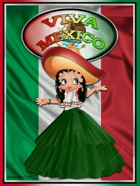Betty Boop viva México
