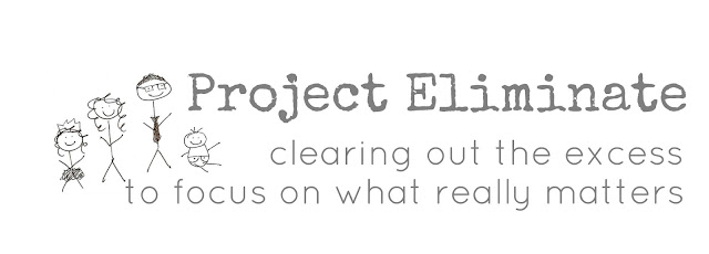 Project Eliminate // 5 steps to get started