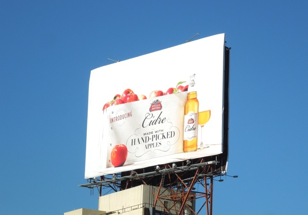 Introducing Stella Artois Cidre billboard