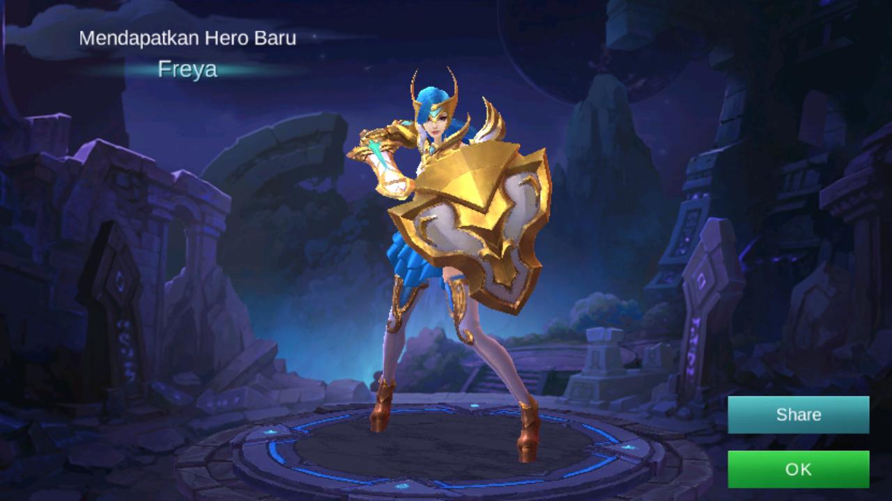 Cara Mendapatkan Hero Freya Dengan Modal 3000 Perak!
