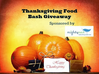 Enter to win the Thanksgiving Food Bash Giveaway. Ends 11/25.