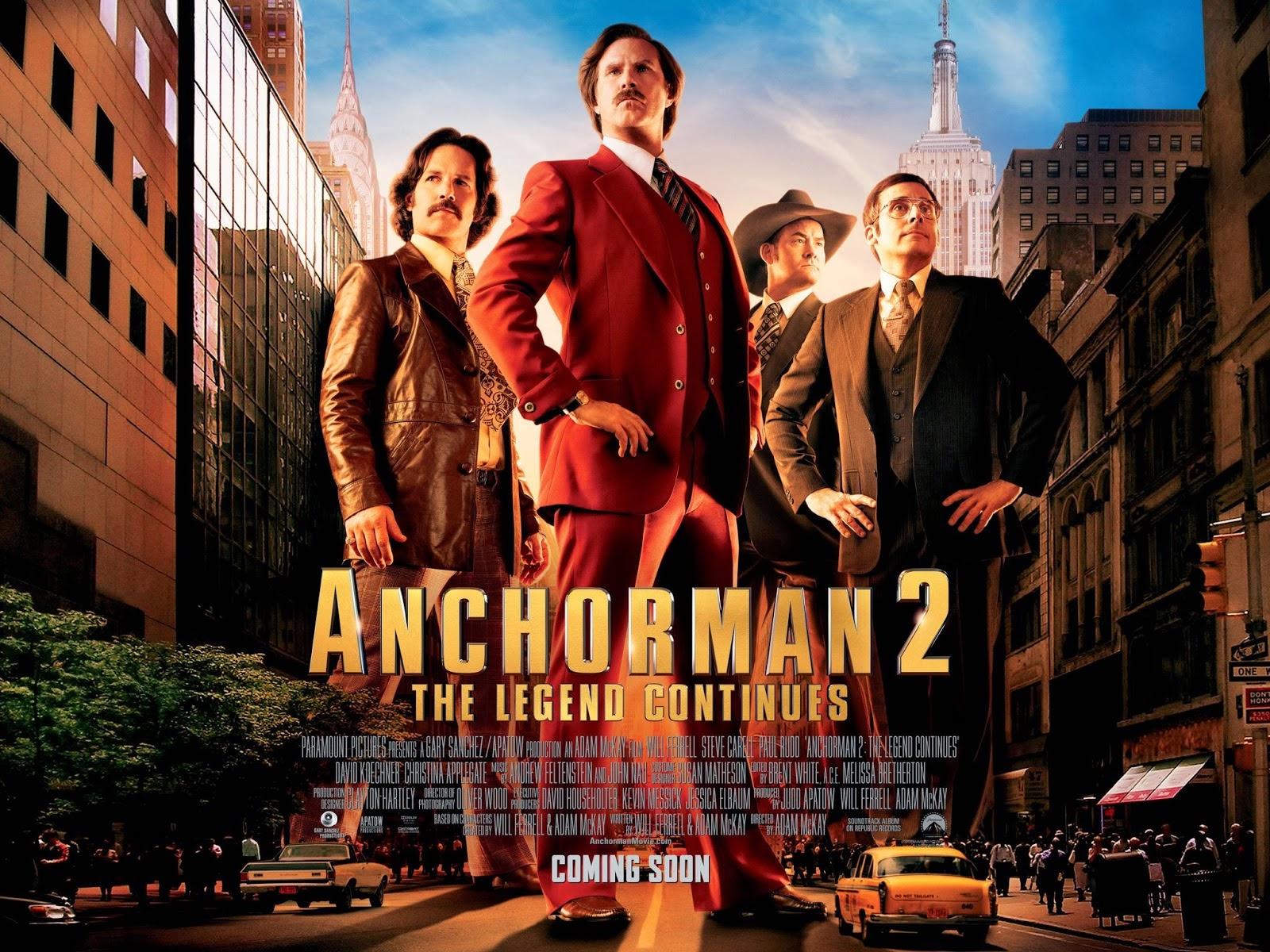 Download Anchorman 2: The Legend Continues (2013) 720p