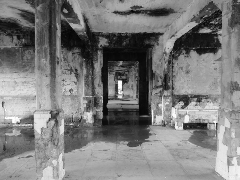 An old hospital in Corregidor Island