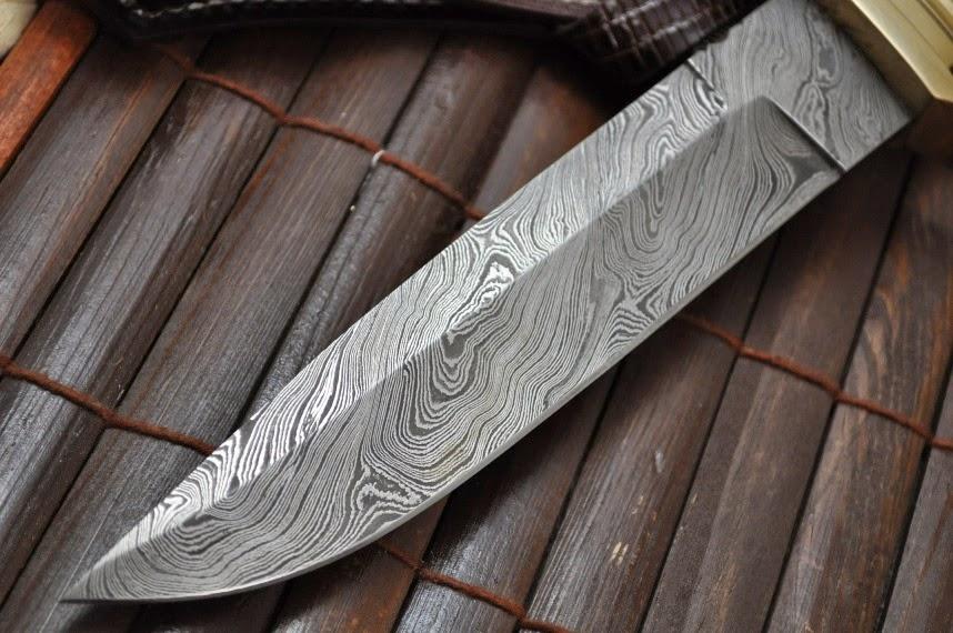 pisau dan pedang damaskus