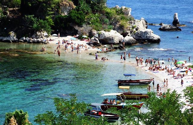 Principais pontos turísticos em Sicília