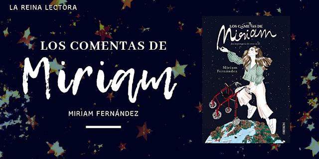 Libro Los cometas de Miriam Fernández