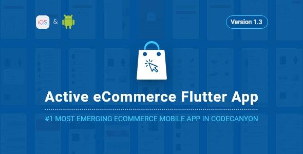 Active eCommerce Flutter App v1.2