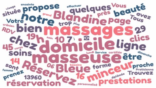 Sausset les Pins réservez votre massage à domicile;