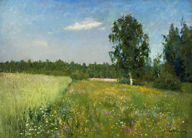 Исаак Ильич Левитан - Июньский день (Лето). 1890-е