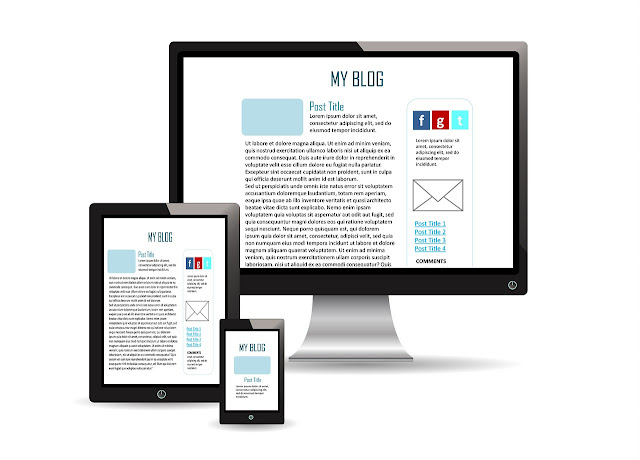 Template Blog Responsive Mobile Friendly