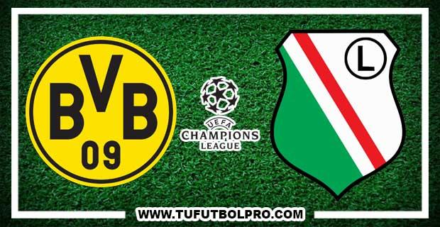 Ver Borussia Dortmund vs Legia EN VIVO Por Internet Hoy 22 de Noviembre 2016