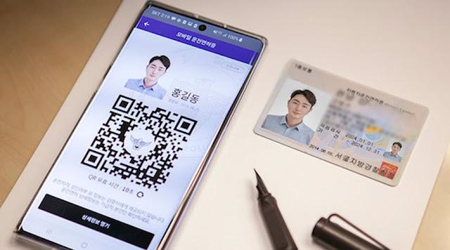 Lesen Memandu Digital di Korea Selatan
