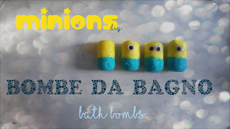 Minions bath bombs without citric acid