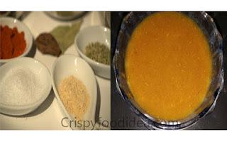 Add ingredients in mango pulp