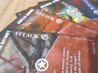 Fireteam Zero: The Africa Cycle advanced action cards