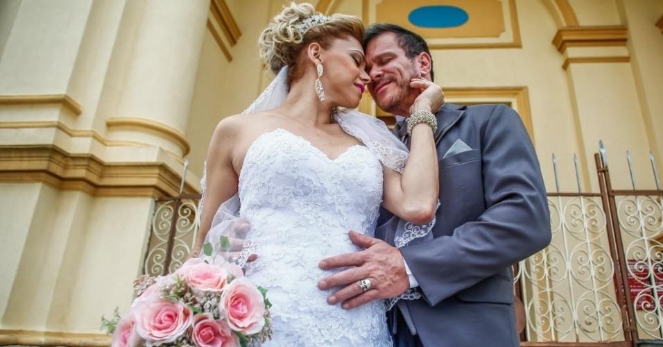 'Tudo que uma rainha merece', diz Léo Àquilla sobre casamento