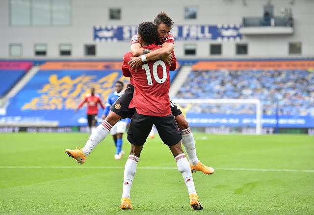 Marcus Rashford scored a brilliant goal during Manchester United 3-2 away win at Brighton