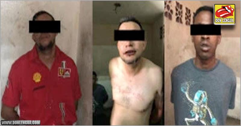 Tres delincuentes detenidos en Bello Campo en pleno atraco