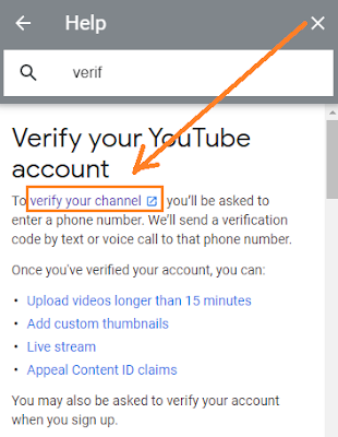 youtube channel verify kaise kare