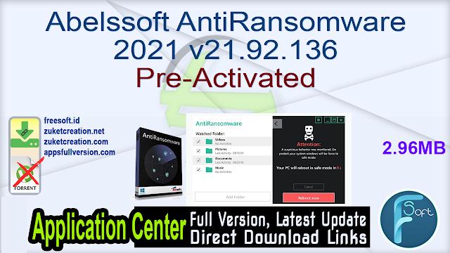 Abelssoft AntiRansomware 2021 v21.92.136 Pre-Activated