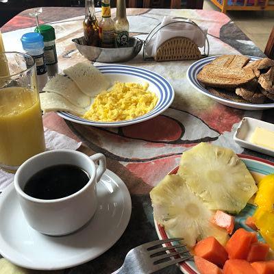 desayunos en la habana. cuba