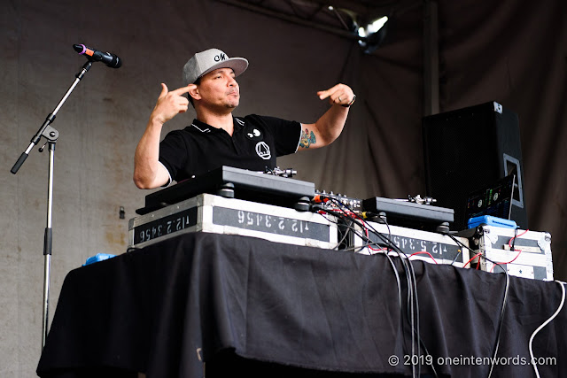 Mix Master Mike at Riverfest Elora on Sunday, August 18, 2019 Photo by John Ordean at One In Ten Words oneintenwords.com toronto indie alternative live music blog concert photography pictures photos nikon d750 camera yyz photographer summer music festival guelph elora ontario