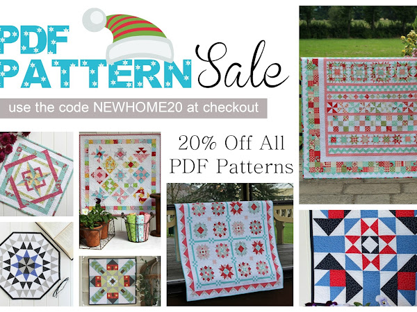 PDF Pattern Sale + Your Free December 2017 Calendar