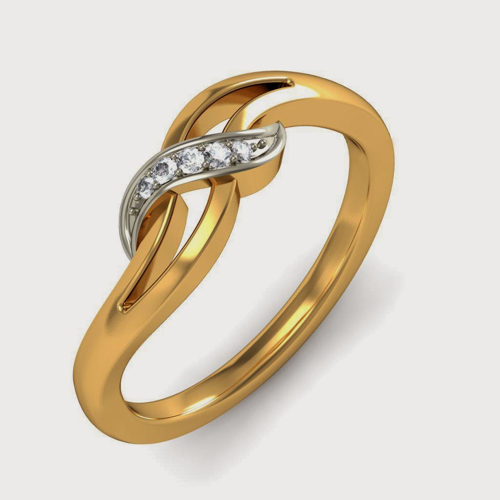 New Fashion Arrivals: Beautiful Gold Rings Design 2014 USA