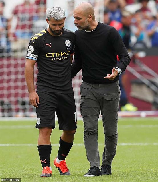 Chấn động Man City: Aguero cãi nhau với Pep Guardiola, phòng thay đồ dễ loạn 6