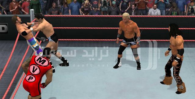 لعبة المصارعة الحرة wwe للاندرويد