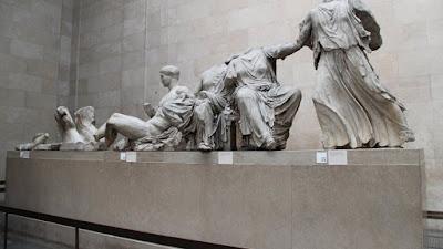 Πρόταση Μητσοτάκη σε Τζόνσον να επιστρέψουν στην Αθήνα τα γλυπτά του Παρθενώνα το 2021