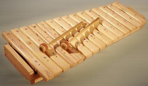 Kolintang alat musik dari Sulawesi