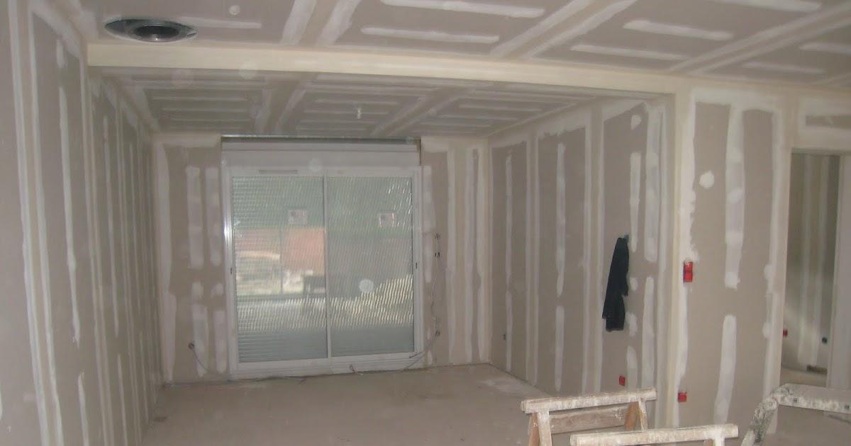 faire construire ex cution des bande sur les cloisons ba13. Black Bedroom Furniture Sets. Home Design Ideas