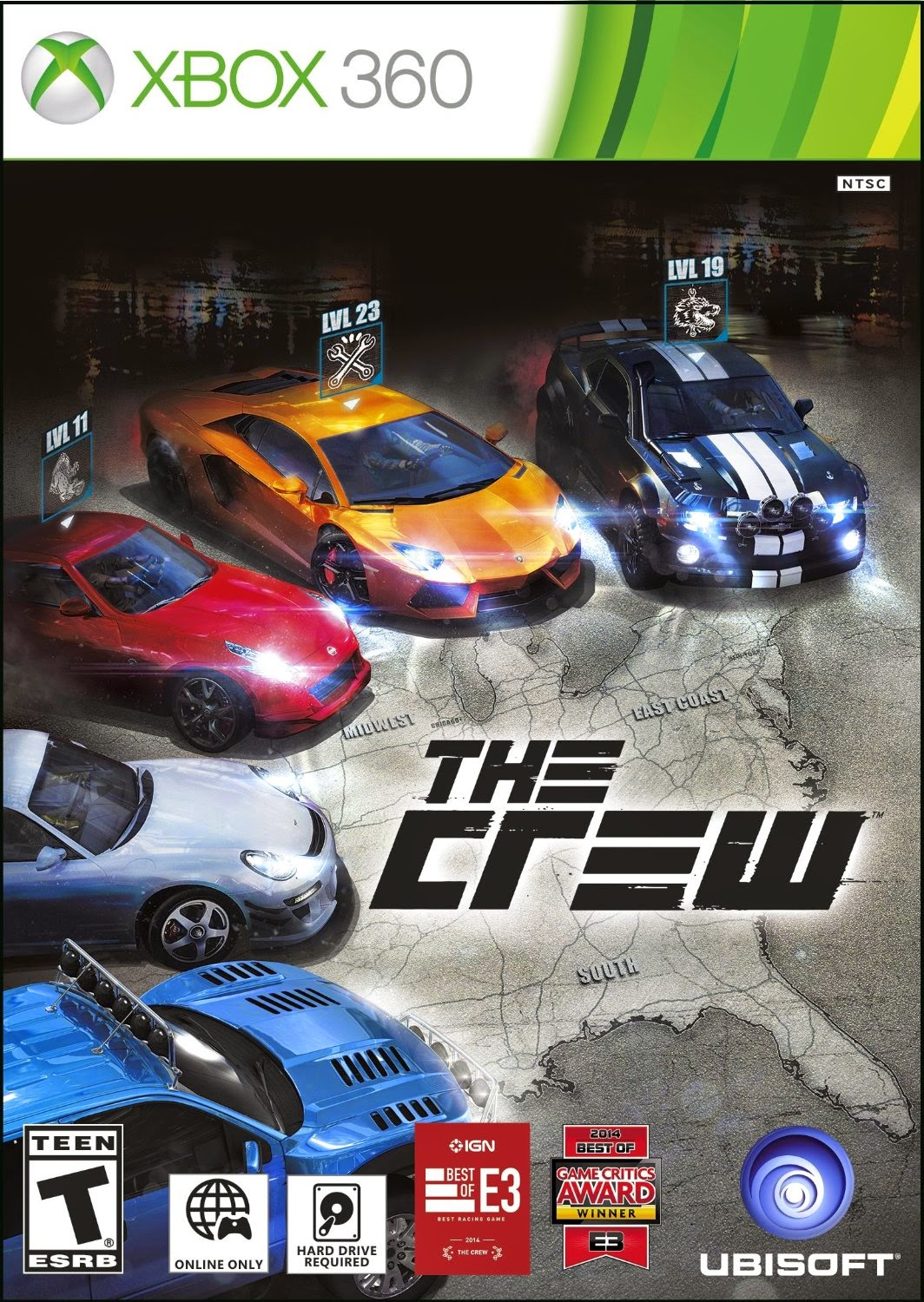 The Crew Multilenguaje ESPAÑOL XBOX 360