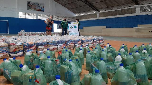 Vivix Vidros Planos distribui 2.400 cestas básicas em Goiana