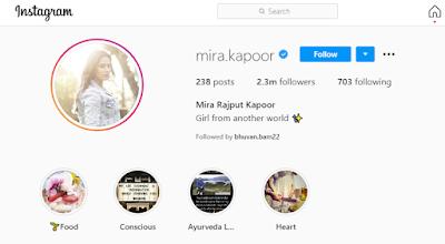 Mira Rajput Age, Height, Husband, Boyfriend, Biography, Wiki & More   Mira Rajput Biography 2020  