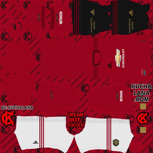 Manchester United 2019 2020 Kit Dls20 Kits Kuchalana
