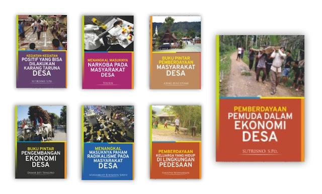 Buku Pemberdayaan Masyarakat Desa dan Kelurahan Untuk Koleksi Perpustakaan Desa