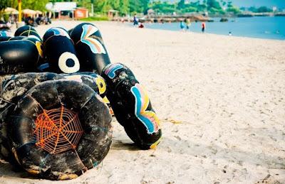 Pantai Pasir Putih Delegan Gresik