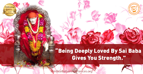 Deeply Loved - Sai Baba On Throne Idol Image