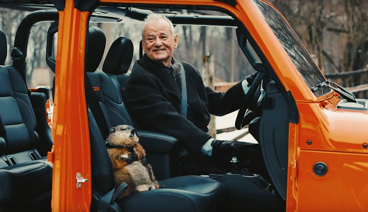 Jeep® schickte Bill Murray zum 'Groundhog Day' 02.02.2020 ins Rennen | Beste Werbung